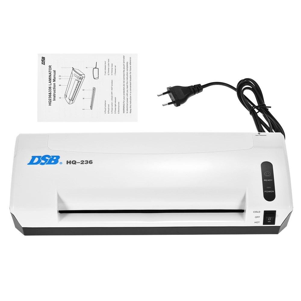 A4 Photo plastifieuse à froid chaud plastifieuse à vitesse rapide Film Plastificadora Machine à plastifier avec coupeur de bureau à domicile gratuit - 4
