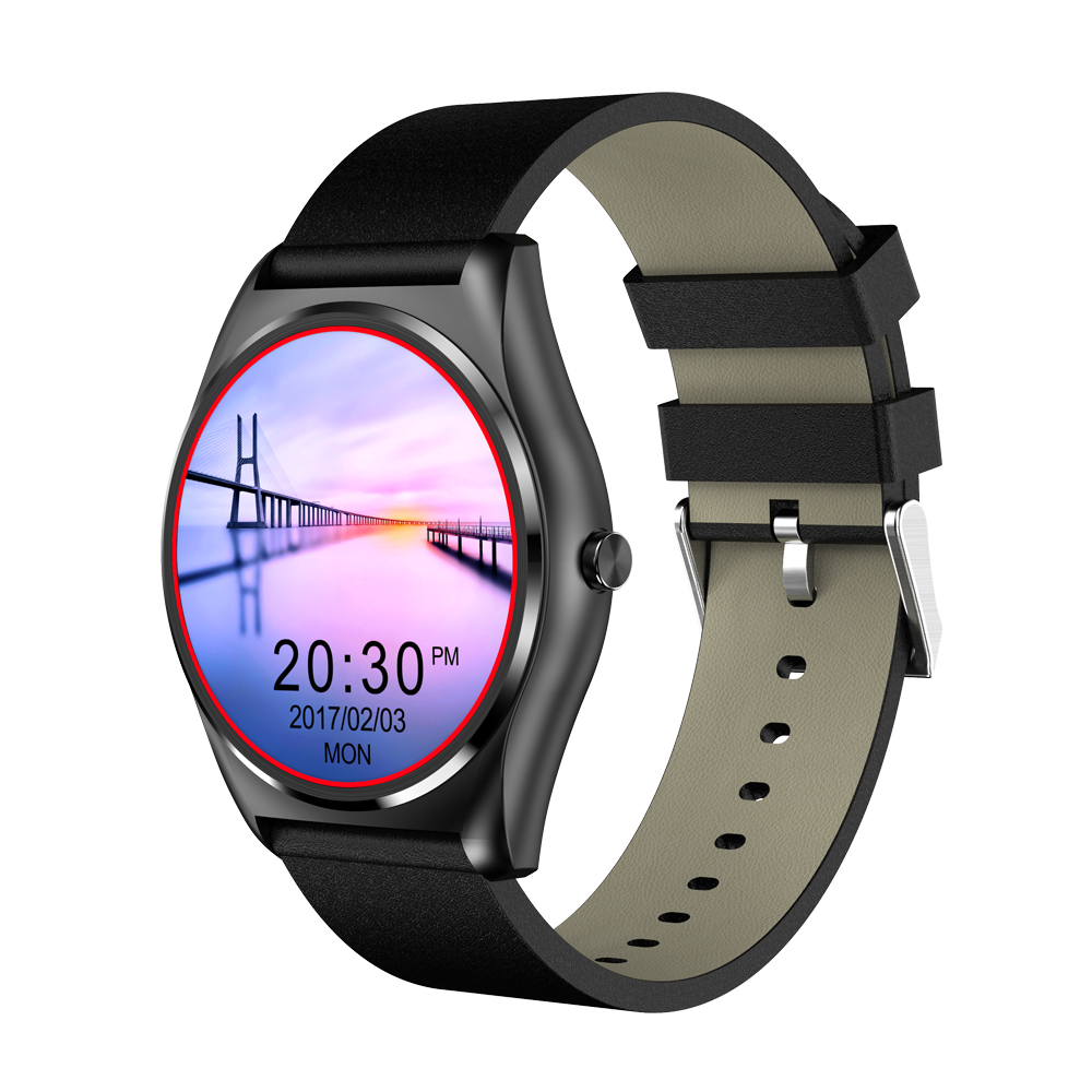 New Round Clock MTK2502c Wireless Charging Smart Watch Heart Rate Monitor Bluetooth Call SMS Sync Smartwatch for iOS Android wireless service call bell system popular in restaurant ce passed 433 92mhz full equipment watch pager 1 watch 7 call button