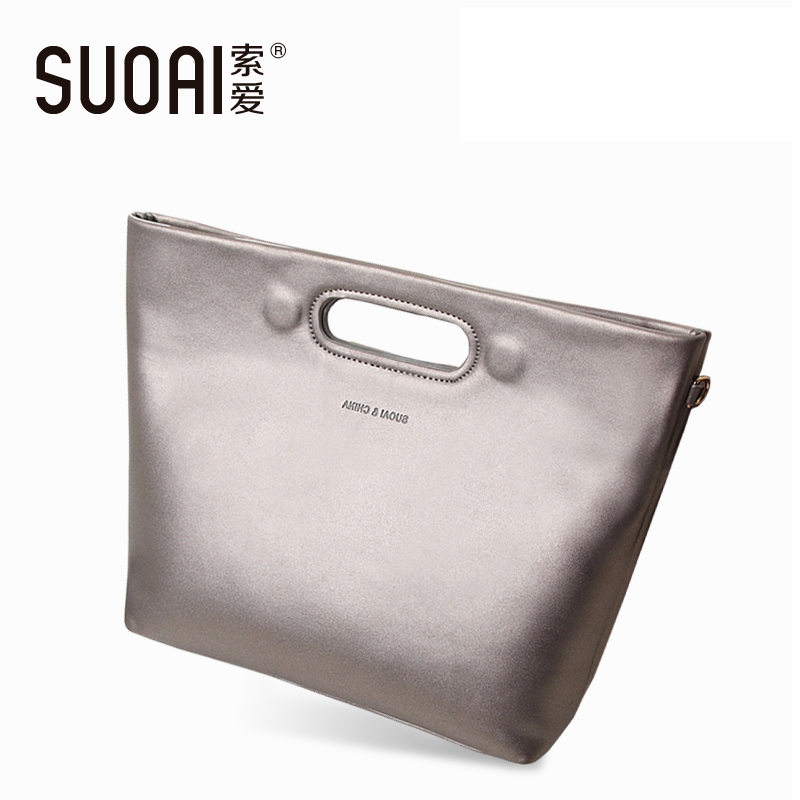 New Women Handbag Fashion Leather Shoulder Bags European And American Style Big Bag For Ladies dtbg pu leather women handbag fashion european and american style totes messenger bag original design briefcase zipper 2017