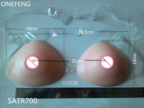 ФОТО 70E-90A.ONEFENG Silicone Artificial Cross dresser Breast Comfortable False Boobs Forms for Man 800g Free Shipping