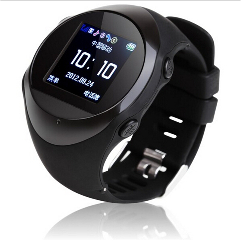 New Real-time GPS tracker PG88 watch with SOS SIM GSM GPRS Tracking & Anti-lost device sync mobile phone for kids/old man new a6 smart watch for kids children gift gps tracker with sos button alarm clock gsm phone anti lost for android ios phone