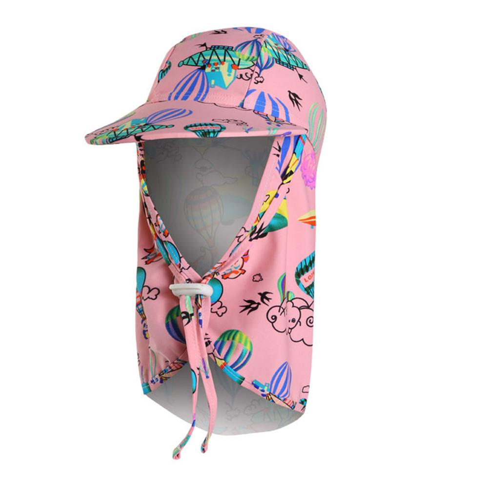 Connectyle Kids Sun Protection Hat With Neck Flaps Girls Quick Dry Beach Play Hat
