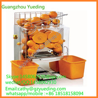 Electric citrus juicer , commercial automatic stainless steel orange juice making machine