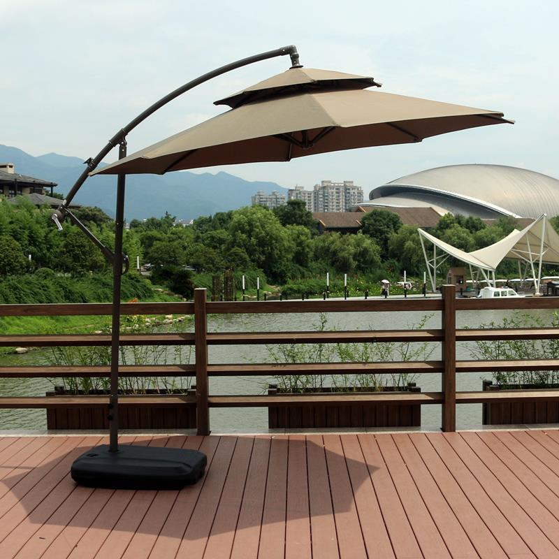 Image 4 - Spiaggia Beach Meuble Jardin Arredo Mobili Da Giardino Ombrelle Mariage Patio Furniture Outdoor Parasol Garden Umbrella Set-in Patio Umbrellas & Bases from Furniture
