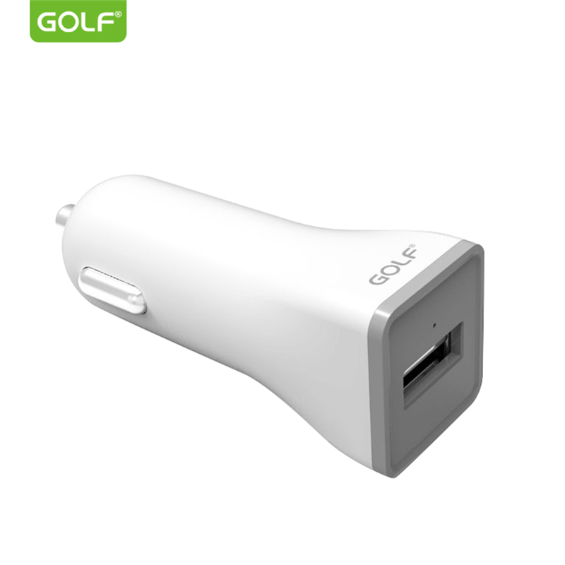 GOLF Car USB Charger for iPhone Fast Charging Mobile Phone USB Car Charger for Xiaomi Samsung Universal Tablet Adapter Charger