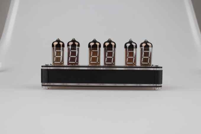 6 Bit IV11 LED Glow Digitale Uhr Nixie Uhr Kit DIY Elektronische Retro Schreibtisch Uhr 5 V Micro USB powered