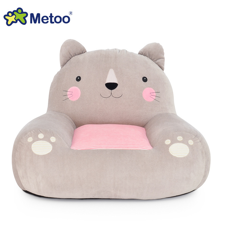 Metoo Cartoon Animal Doll Waist Cushion Soft Cute Sofa Rest Pillow Sweet Lovely Gift for Girlfriend Office Worker Plush Toys ins hot swan soft toy cute ballerina moon cushion pink home sofa decoration pillow baby appease music doll kidstoy gift for girl