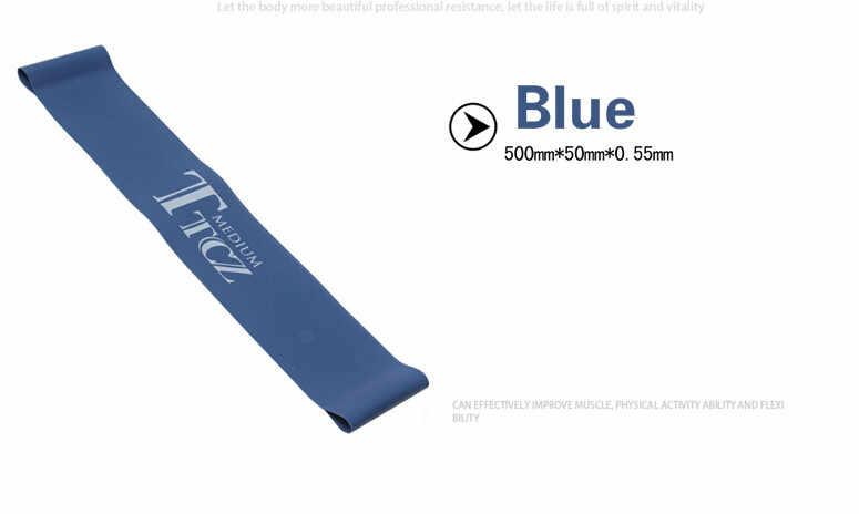 4 poziomy gumowe lateksowe taśmy oporowe sprzęt Fitness Stretch yoga treningu nóg elastyczna opaska ćwiczenia moc pilates GYH