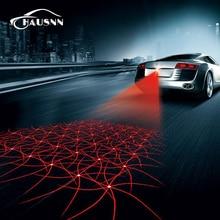 1X New Pattern Anti Collision Rear-end Car Laser Tail Fog Light Auto Brake Parking Lamp Rearing Warning Light Car Styling