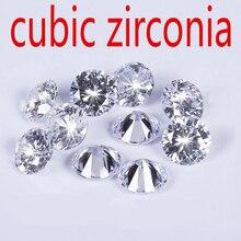 CZ Irconiaรอบเพทายพบเครื่องประดับDIYซัพพลายจัดส่งฟรี Z Cubic