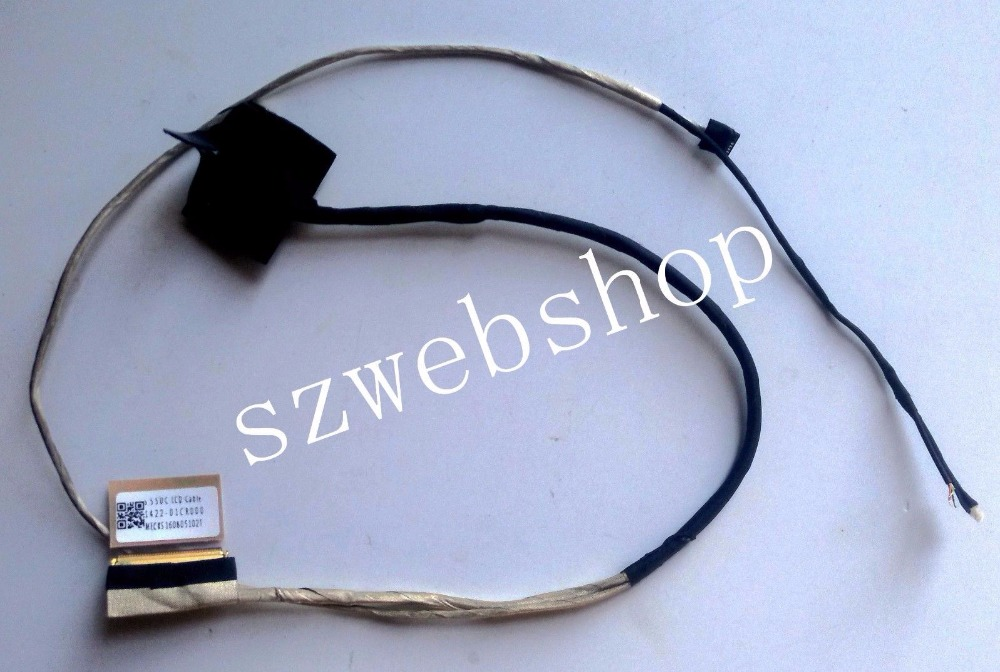 New for Asus Vivobook S550C S550CA S550CB S550CM laptop Lcd screen video cable 1422-01CR000 fit touch screen model