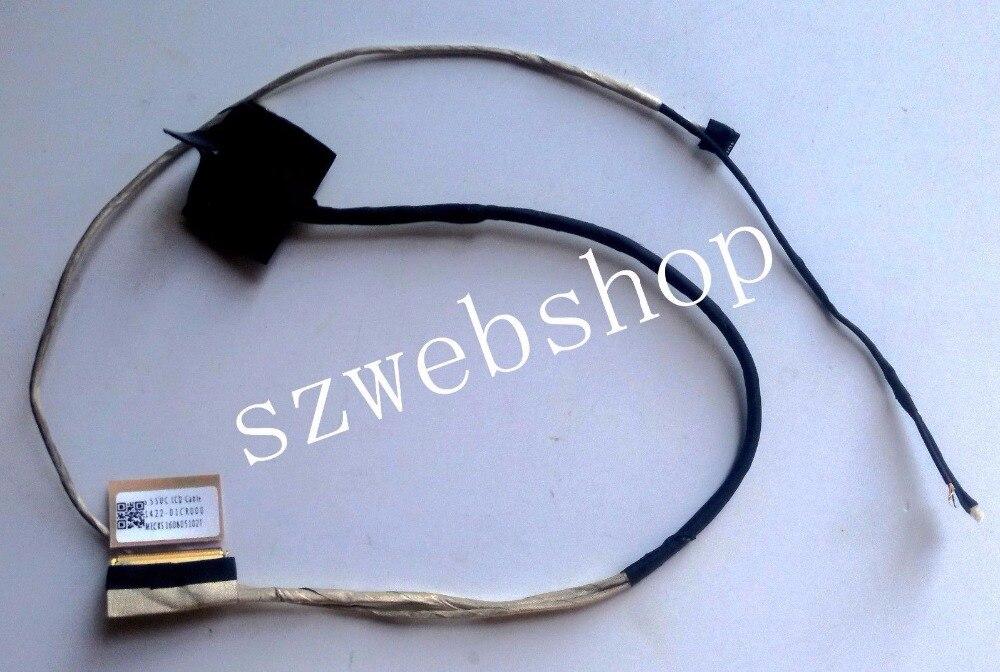 Naujas Asus Vivobook S550C S550CA S550CB S550CM nešiojamojo kompiuterio vaizdo kabelis 1422-01CR000 tinkamas jutiklinio ekrano modelis