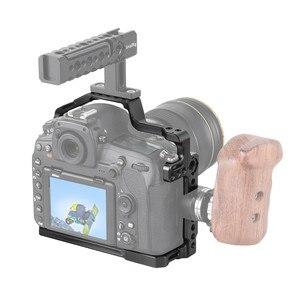 Image 2 - Petite Cage de montage pour Nikon D850 avec plaque QR suisse Arca intégrée et Rail otan 2129