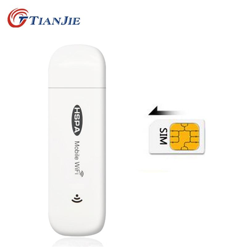 3G autós útválasztók Mobil Wifi Hotspot Mifi DongleCar USB modem 7.2Mbs Mini vezeték nélküli univerzális szélessávú kapcsolat SIM kártyanyílással