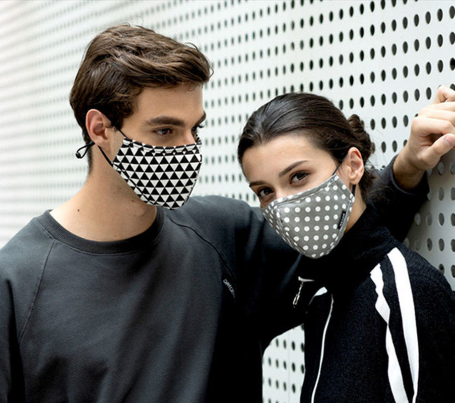 Washable Cotton Anti-dust Face Mouth Mask Breathable Unisex Mask