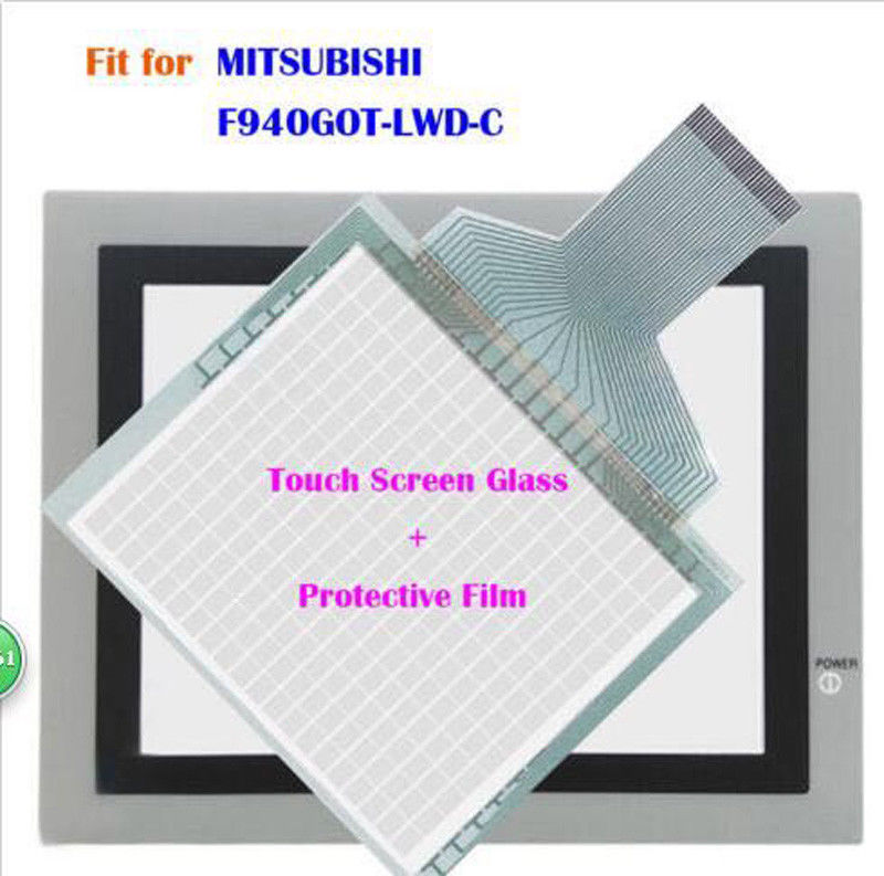 for MITSUBISHI F940GOT-LWD-C, F940GOTLWDC Touch Screen Glass + Protective Film f940got lwd c touch screen new offer
