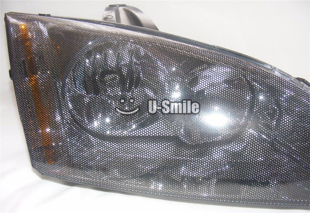 SPI Vision, перфорированные сетки Плёнки фар оттенок дороги правовых винил Fly глаз оттенок 1.07x50 м/roll