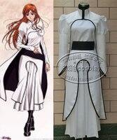 BLEACH Orihime Inoue Arrancar Halloween Cosplay Costume White Costume