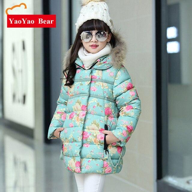 4bd989f37 Winter Coats for Teenage Girls Cotton Padded Warm Children s Winter ...