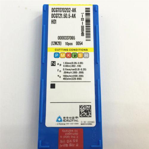 YZ66  DCGT070202-AK-H01 DCGT21.50.5-AK H01