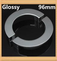 4pcs 96mm Single Hole Knob Semicircle Half Round Zinc Alloy Furniture Knob Drawer Knob Glossy Finish