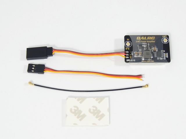 DALRC 2.4 GHz Amplificador de potencia de transmisión $ number dbm mando a distancia distancia extensor para DJI Phantom 2/FUTABA/Frsky