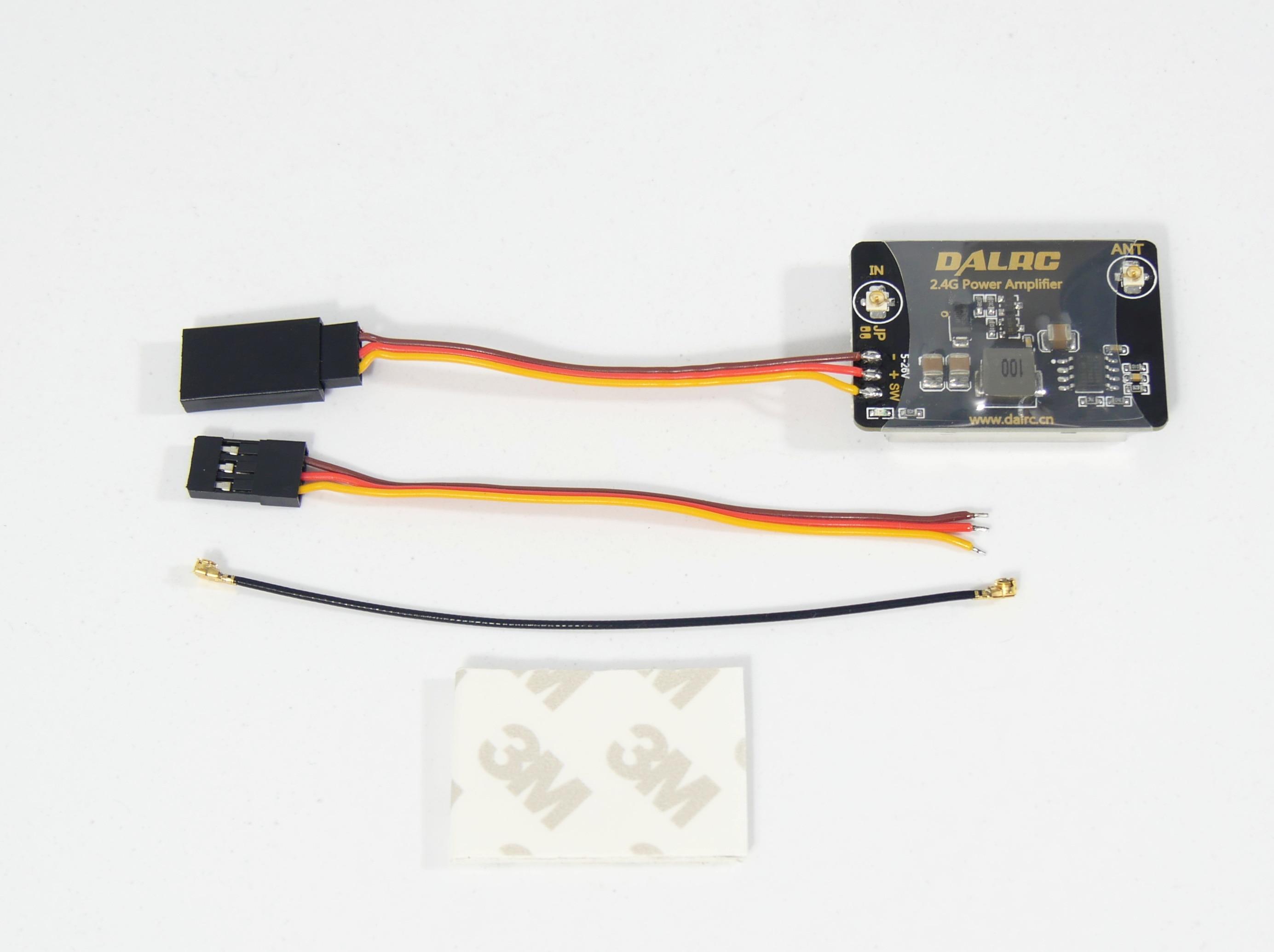 DALRC 2,4 ghz 8dBm fernbedienung übertragung power Verstärker abstand extender für DJI Phantom 2/FUTABA/Frsky