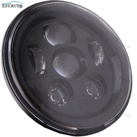 7 Inch Round LED Moto Headlamp 45W Daymaker Projector Headlight H4 H13 For Harley Davidson For