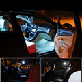 Для Ford Mondeo Mk4 Mk IV Canbus Автомобиля СВЕТОДИОДНАЯ Лампа 12 В интерьер свет комплект пакет стайлинга автомобилей 12 шт. за комплект Авто Аксессуары