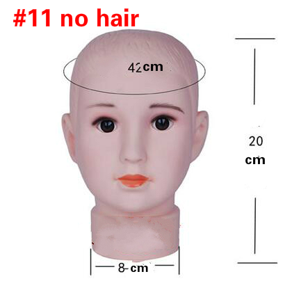 1 pz Testa circonferenza 42 cm bambino bambino modello di testa bel ... f8734b4d9245