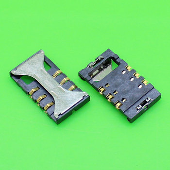 5pcs/Lot For Samsung Galaxy Ace S5830 Sim Card Reader Holder Tray Slot holder connector mallper replacement 3 7v 1200mah li ion battery for samsung galaxy ace s5830 orange