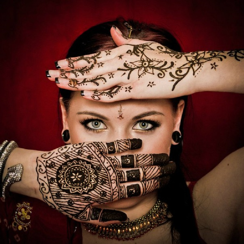 3X Svart Henna Cones Tattoo Ink Tube Naturlige Indiske Midlertidige - Tatovering og kroppskunst - Bilde 3