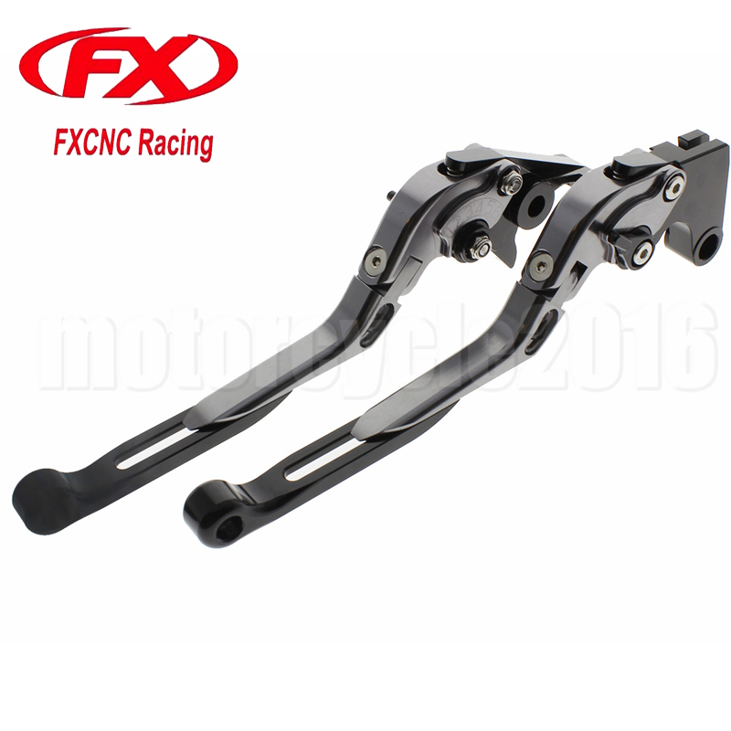 FXCNC Foldable Extendable Motorcycle Brake Clutch lever For TRIUMPH TIGER 1200 EXPLORER 2012-2016 2013 2014 2015 Moto Brake motorcycle new adjustable cnc billet short folding brake clutch levers for triumph tiger explorer 1200 2012 2015 2013 2014 12 15