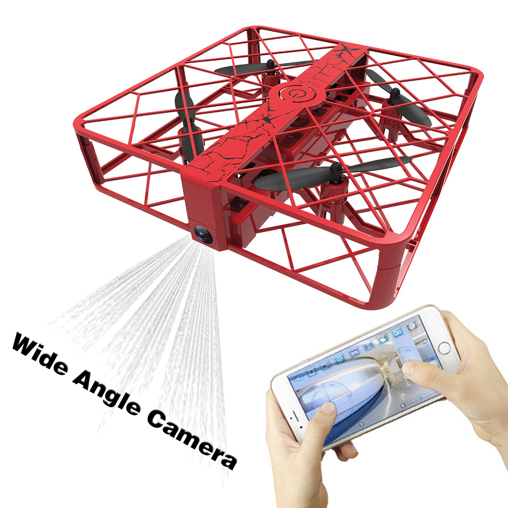 RC Quadcopter Mini Drone with Camera 2MP Dron Remote Control Helicopter Shatter Resistant Shock Proof DK-Z8
