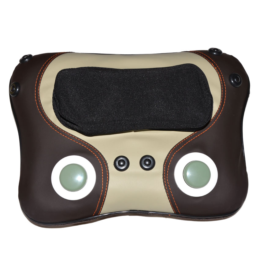 AMKEE Cervical Vertebra Massager Cushion Neck Waist Back Shoulder Massage Pillow Multifunction Health Care Cushion Relaxation цена