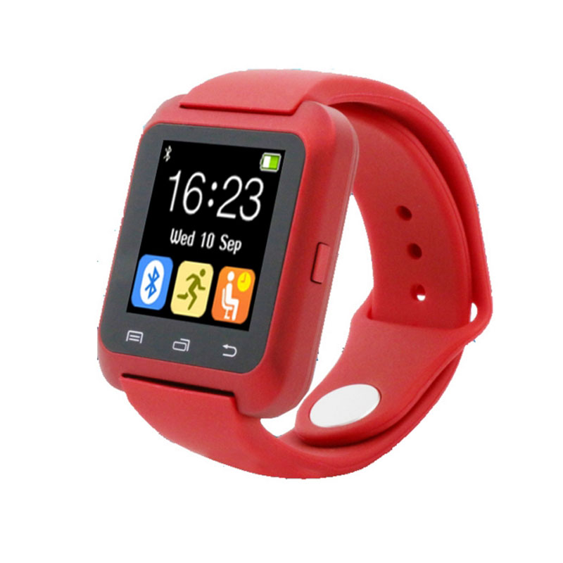 U80 Bluetooth Smart Watch Sport for Phone 4/4S/5/5S/6/6+ Samsung S6/Note/S7 HTC Android Phone Smartwatch