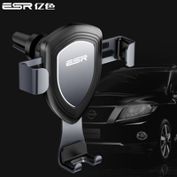 ESR Universele Auto Telefoon Houder Autobot Zwaartekracht Verstelbare Air Vent Outlet Metalen Phone Holder iphone X S8 Smartphone