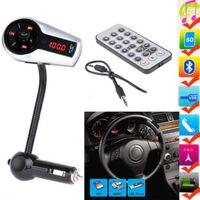 Eincar Nowy Model LCD Zestaw Samochodowy Zestaw Głośnomówiący Bluetooth, Nadajnik FM Odtwarzacz MP3 Z Steering wheel Control + Pilot + USB/SD/MMC + Ładowarka