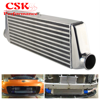 Universal Front Mount Bar&Plate Intercooler 500*180*64 In/Outlet 2.25