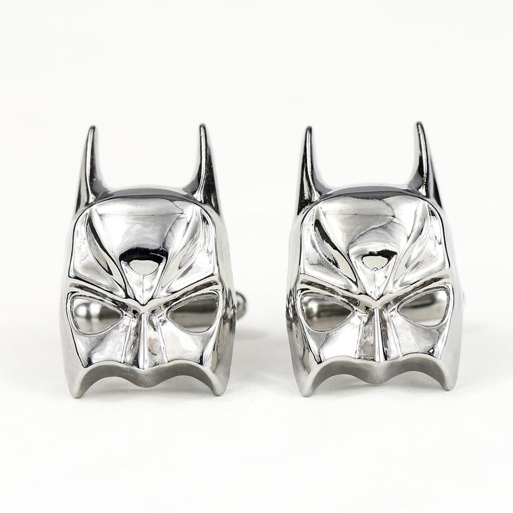 c14381a60629 ᑐPromotion Batman Tête boutons de Manchette pour Hommes D affaires ...