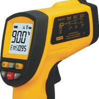 GM900 Non Contact 12:1 LCD Display IR Infrared Digital Temperature Gun Thermometer 50~900C ( 58~1652F) 0.1~1.00 Adjustable