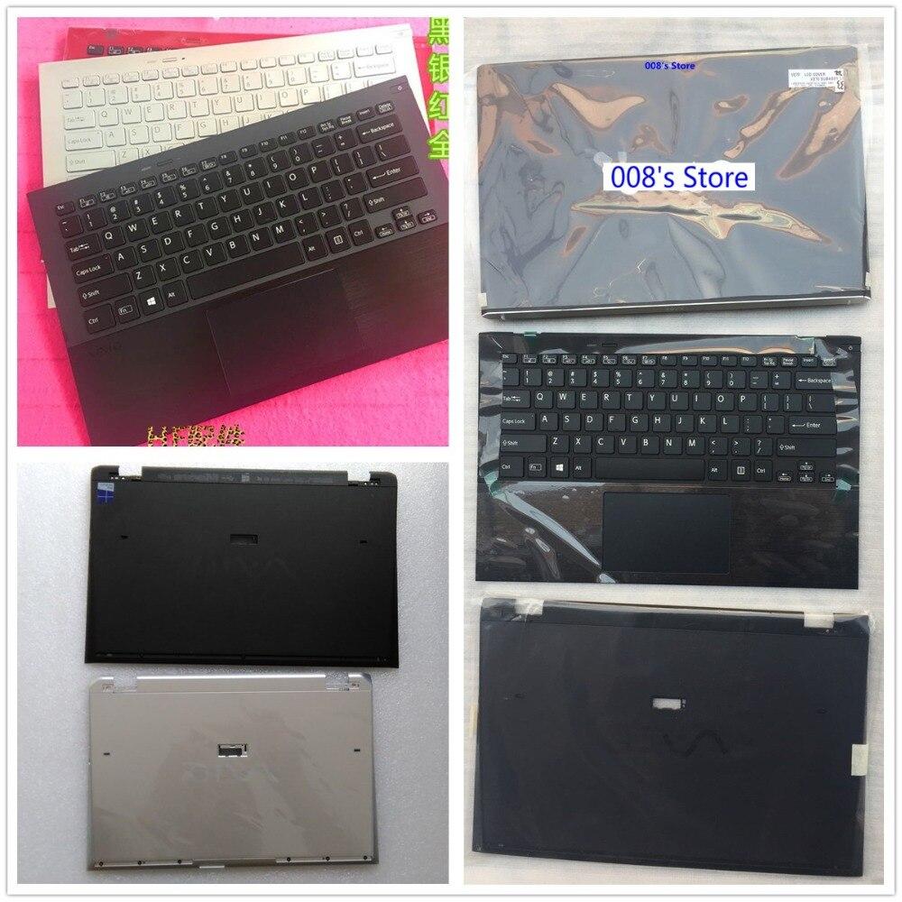 New Case For SONY VAIO PRO 13 PRO13 SVP13 SVP132 SVP132A SVP1321 SVP132A Back Cover/Palmrest Upper/Keyboard Backlit/Botttom Base