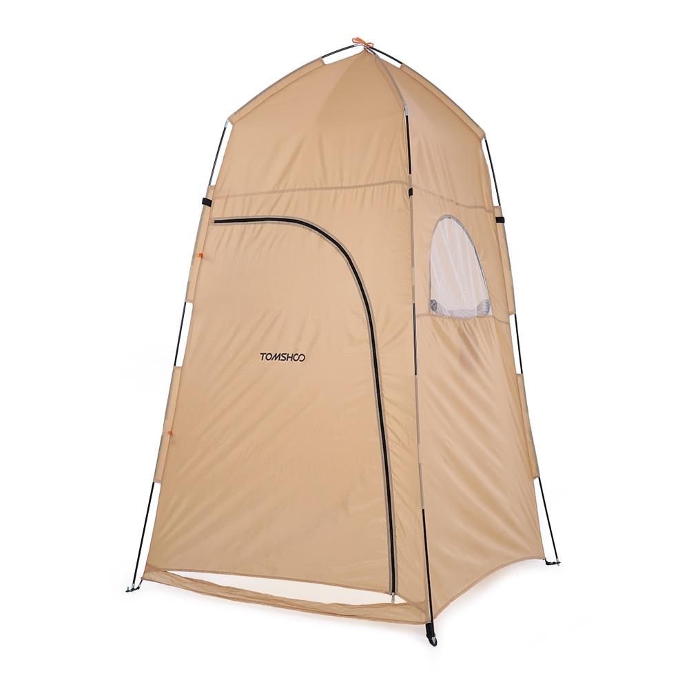 TOMSHOO Портативный Открытый Отдых Туалетная изменение палатка туалет палатка Pop Up Для ванной Shelter душ палатка для пляжа Рыбалка