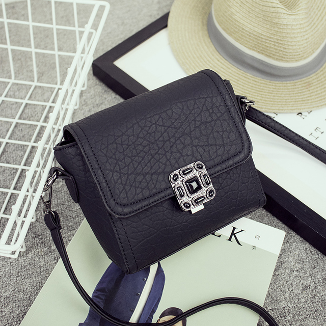 Small Vintage Casual Leather Handbags High Quality bag ladies Purses Clutch Bag Women Messenger Shoulder Crossbody Bags Bolsos