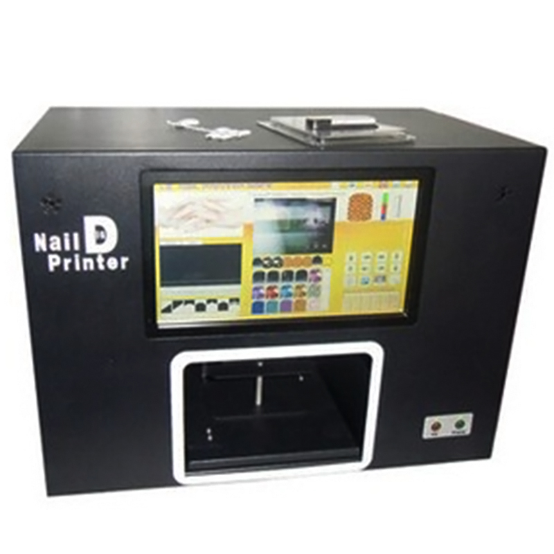 Computer Build Inside Nail Printer Equipment For Nails 5 Nails Printing Machine Digital Nail Printer With Screen For Salon Tools free shipping 2016 new updated ce approved 5 nails printing machine nails and flower printer