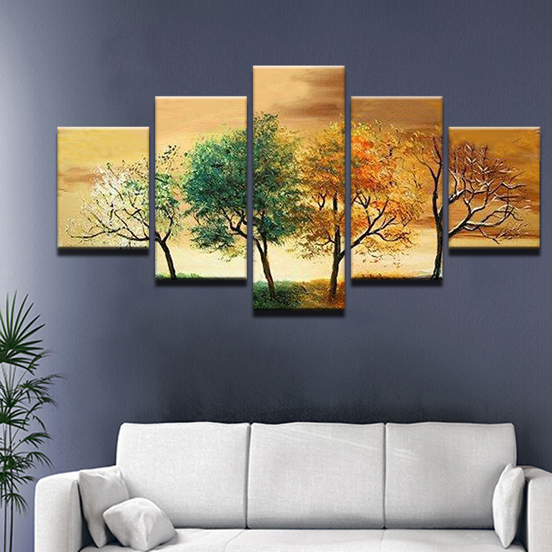 Best 4 Seasons Painting Ideas And Get Free Shipping A759