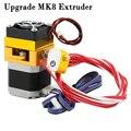 Обновление MK8 экструдер 0 4 мм/1 75 мм печатающая головка ABS PLA нить для 3D принтера Makerbot Prusa