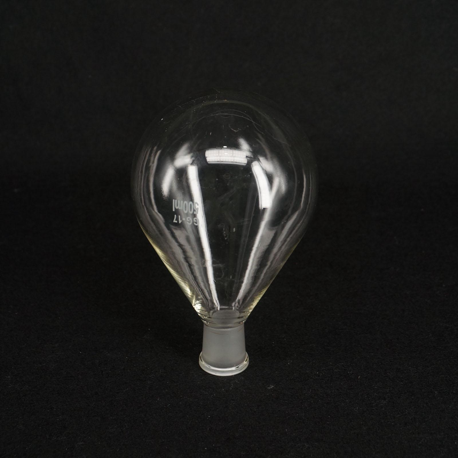 500 мл 19/26 Quickfit Совместной Лаборатории Стеклянный Роторном Испарителе Колбу с Круглым Дном Посуды