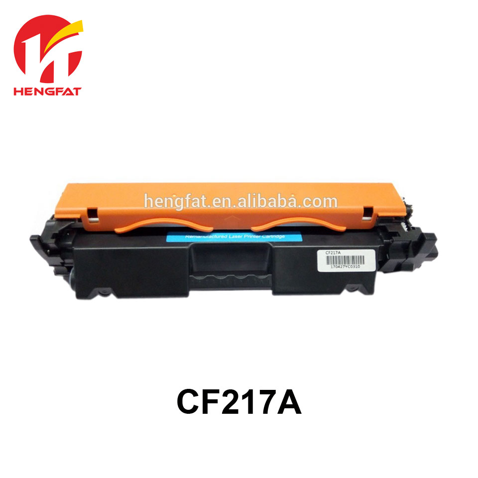 2PCS  CF217A compatible toner cartridge for HP LaserJet Pro M102a M102w MFP M130A M130fn M130fw CF217A 217a (with chip) black toner cf400a 400a 2 pack toner cartridge compatible for hp color laserjet pro m252dw with chip