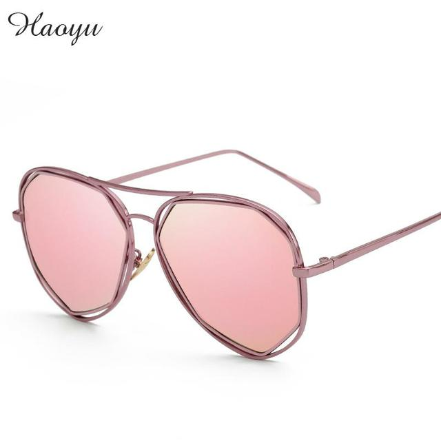 057178bc9cb haoyu woMen Sunglasses Polarized Lens Driver Mirror Sun Glasses feMale  Driving Fishin g Eyewears Accessories 2229